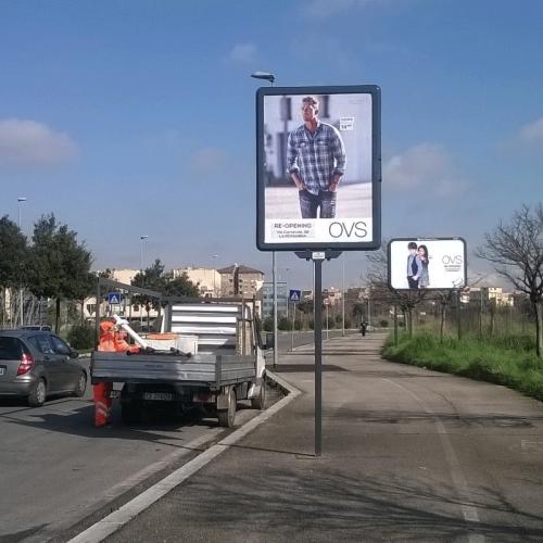Stendardo Monopalo 140x200 - Roma - SGL